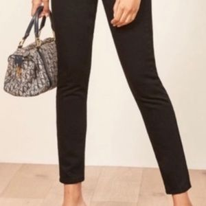Reformation with tags, black Minnie jeans.